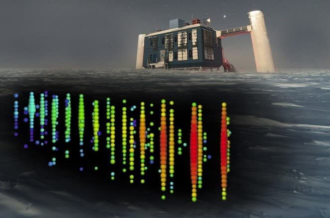 In the Pacific Ocean, astronomers are planning a massive neutrino observatory