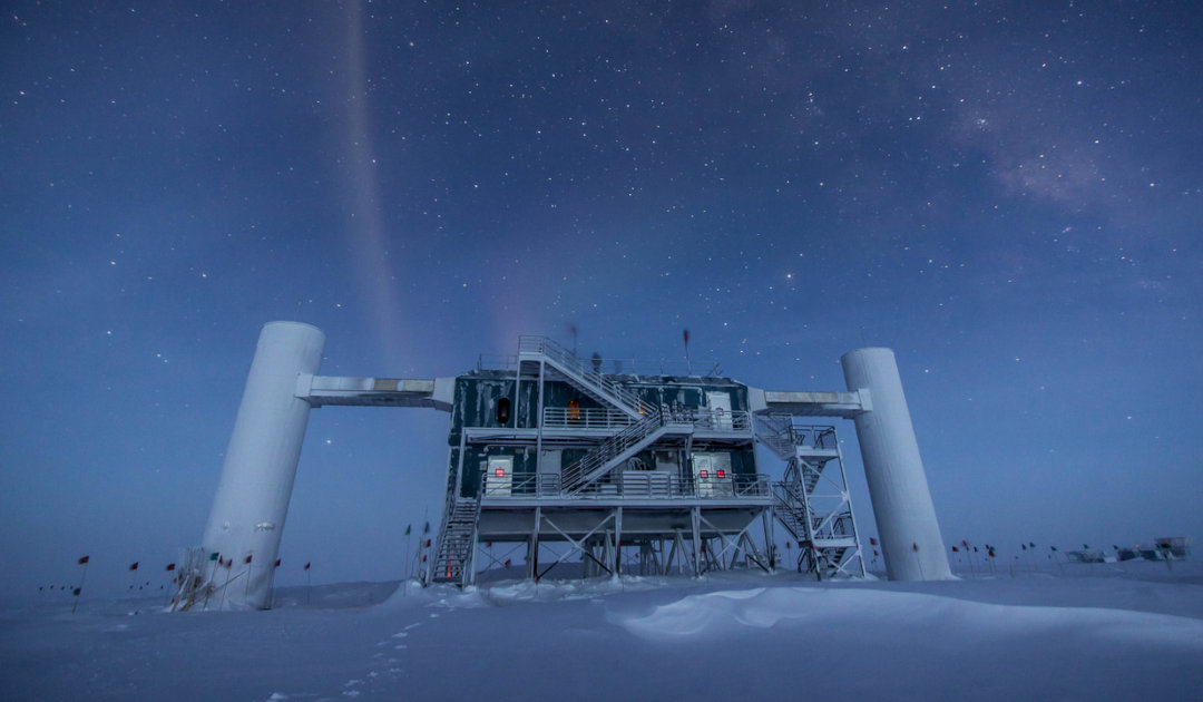 Astronomers set traps in Greenland's ice to capture deep-space neutrinos